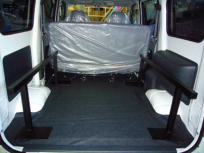 S400系タウンエース/ライトエースバン用ベッドキット